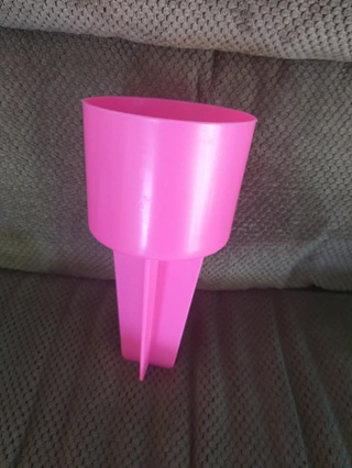 Drink Bottle/Cup Beach Holder - Pink