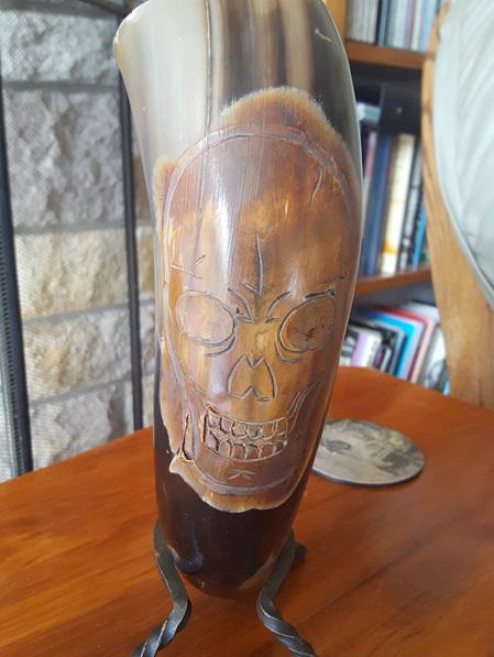 Drinking Horn Type 39 - Death's Head