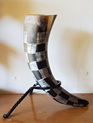 Drinking Horn Type 5 - Medium with Carved Finish