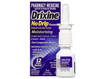 DRIXINE No Drip Moist. Pump Sp 15ml