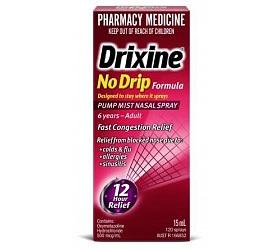 DRIXINE NO DRIP ORIGINAL PUMP SPRAY 15ML