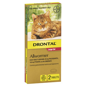 Drontal Allwormer Cat