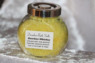 Drunken Bath Salts Range - Bourbon Whiskey