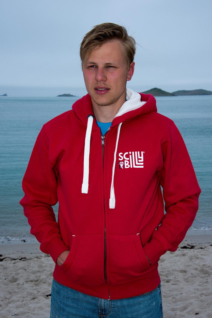 Daymark Red hoodie