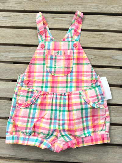 Dside tales pink overalls
