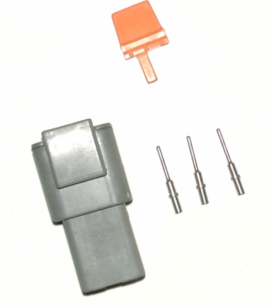 DTM connector sealed 3 way
