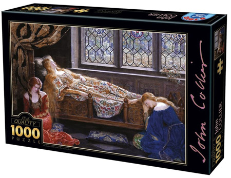 Dtoys 1000 Piece Jigsaw Puzzle: Collier - The Sleeping Beauty