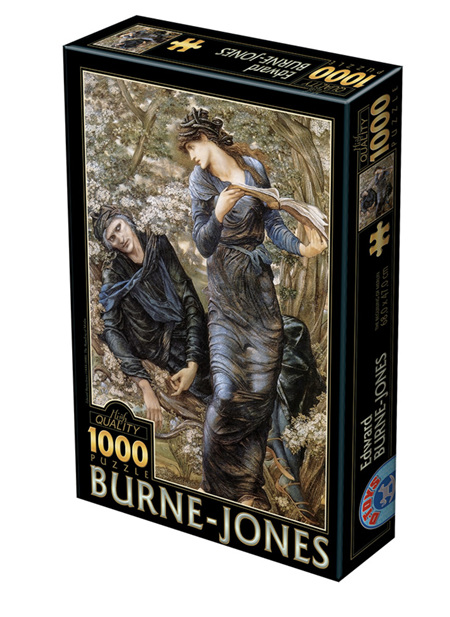 Dtoys 1000 Piece Jigsaw Puzzle:  Edward Burne-Jones: The Beguiling of Merlin