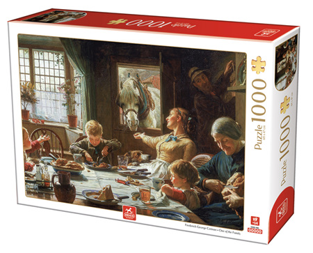 Dtoys 1000 Piece Jigsaw Puzzle:  Frederick George Cotman - One of the Family