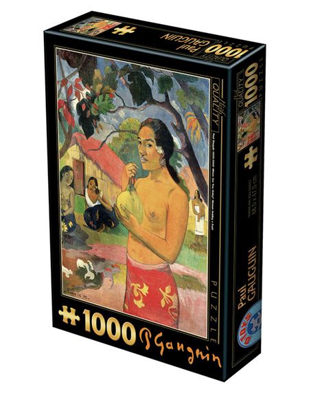 Dtoys 1000 Piece Jigsaw Puzzle:  Gauguin Paul: Eu haere ia oe