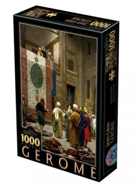 Dtoys 1000 Piece Jigsaw Puzzle: Jean-Leon Gerome-Carpet Merchants Cairo