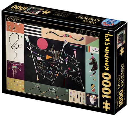 Dtoys 1000 Piece Jigsaw Puzzle: Kandinsky Vassily - The Whole