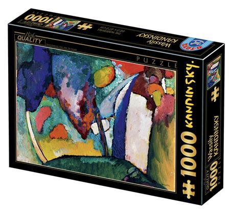 Dtoys 1000 Piece Jigsaw Puzzle: Kandinsky Vassily - The Waterfall