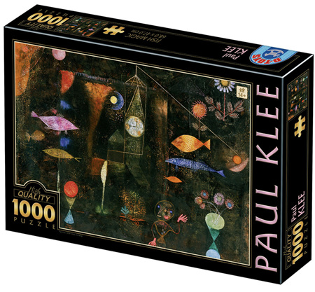 Dtoys 1000 Piece Jigsaw Puzzle: Klee - Fish Magic