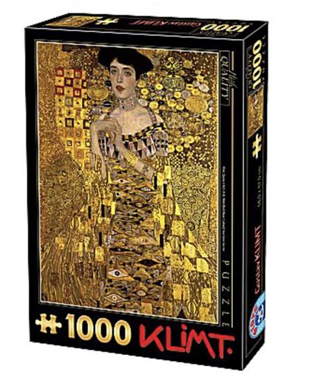 Dtoys 1000 Piece Jigsaw Puzzle:  Klimt : Adele Bloch-Bauer