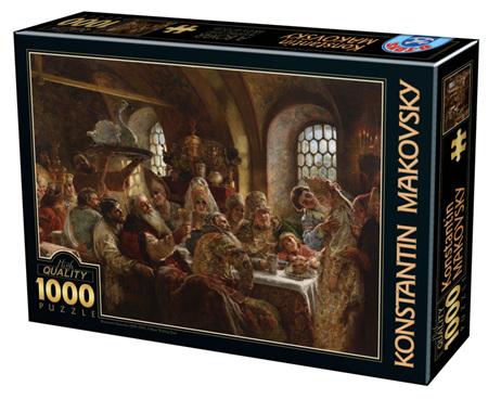 Dtoys 1000 Piece Jigsaw Puzzle:  Konstantin Makovsky