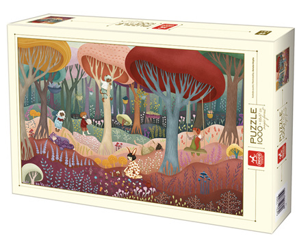 Dtoys 1000 Piece Jigsaw Puzzle:  Magic Forest