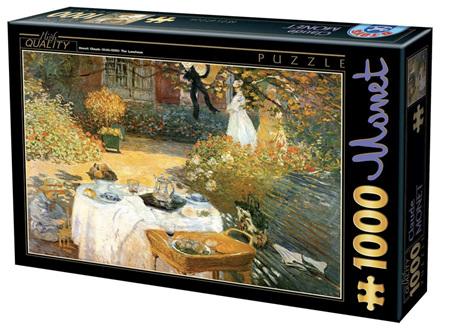 Dtoys 1000 Piece Jigsaw Puzzle:  Monet : Breakfast