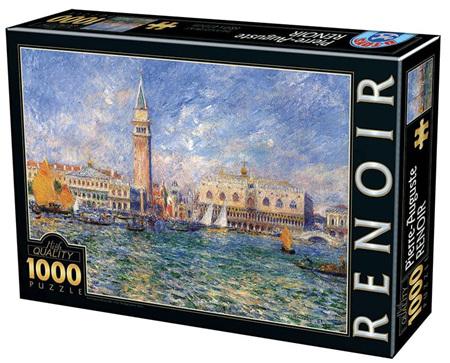 Dtoys 1000 Piece Jigsaw Puzzle: Renoir - Doge's Palace Venice