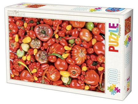 Dtoys 1000 Piece Jigsaw Puzzle: Tomato