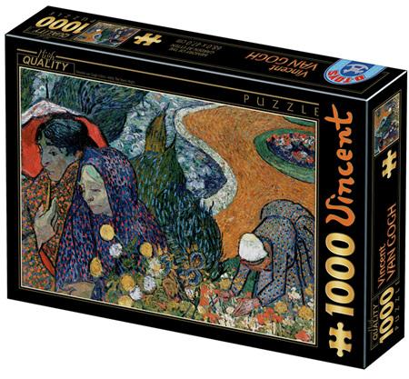 Dtoys 1000 Piece Jigsaw Puzzle: Van Gogh : Memory of the Garden at Etten