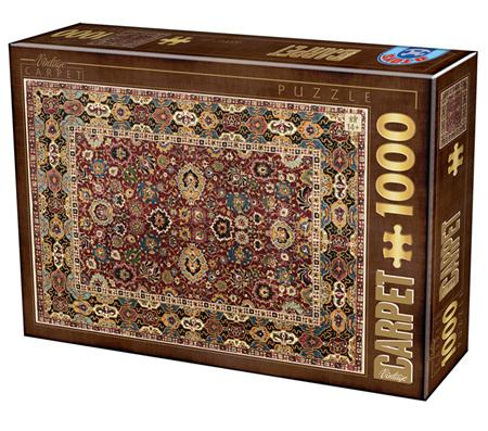 Dtoys 1000 Piece Jigsaw Puzzle: Vintage Carpet