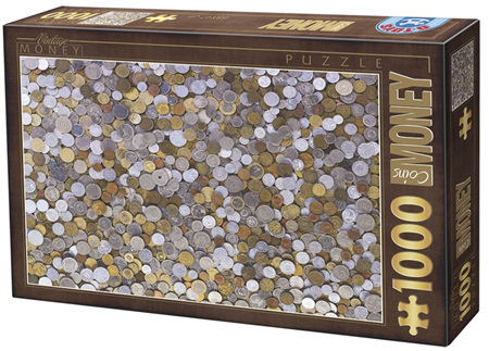 Dtoys 1000 Piece Jigsaw Puzzle:  Vintage Collection - Money