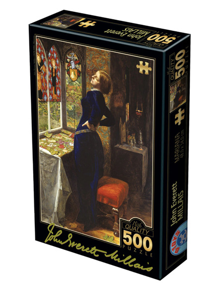 Dtoys 500 Piece Jigsaw Puzzle: Millais - Mariana