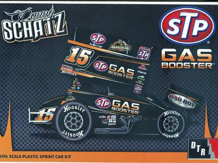 DTR 1/24 Donny Schatz Knoxville Winner Sprint Car