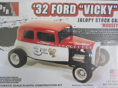 """DTR 1/25 32 Ford Vicky """"Mousey"""" Jalopy Kit"""