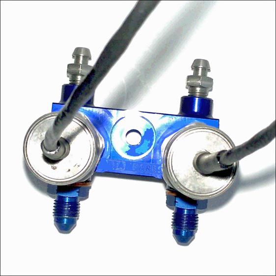dual brake pressure sensor kit