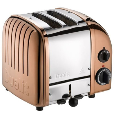 Dualit 2 Slice Copper SS Toaster