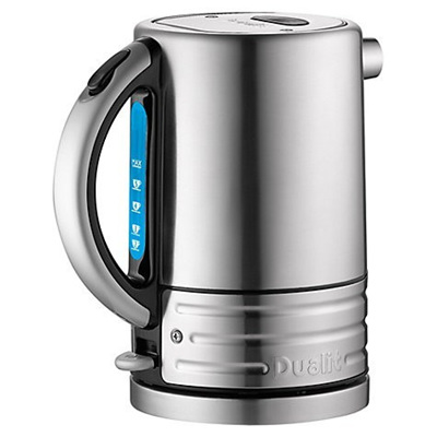 Dualit Arch. Jug Brushed Body Blk Handle