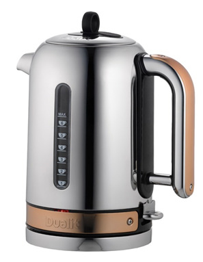 Dualit Classic Cordless Jug in Copper