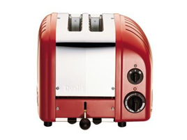 Dualit NewGen 2 Slice Toaster in Polished Red