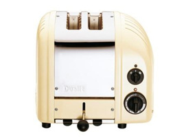 Dualit NewGen 2 Slice Toaster in Utility Cream