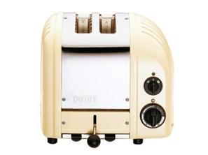 Dualit NewGen 2 Slice Toaster in Utility Cream