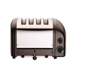 Dualit NewGen 4 Slice Toaster in Black