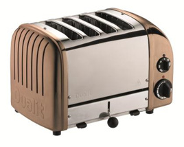 Dualit NewGen 4 Slice Toaster in Copper