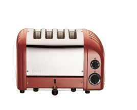 Dualit NewGen 4 Slice Toaster in Original Red