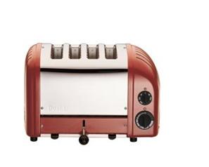 Dualit NewGen 4 Slice Toaster in Original Red