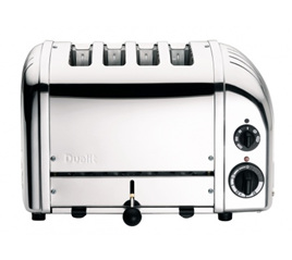 Dualit NewGen 4 Slice Toaster in Stainless Steel