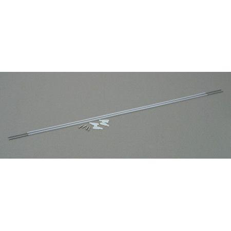 Dubro Pushrod Assembly Nylon Steel Mini x 20' #113