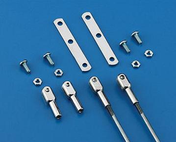 Dubro Rod End 4-40 Threaded Steel #205