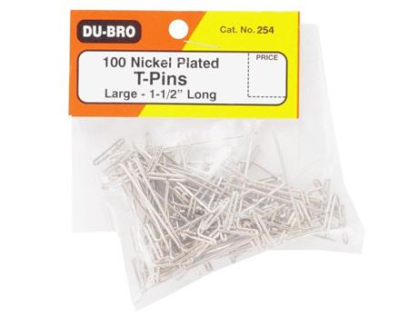 Dubro T-Pins 1.5' 100 Piece #253