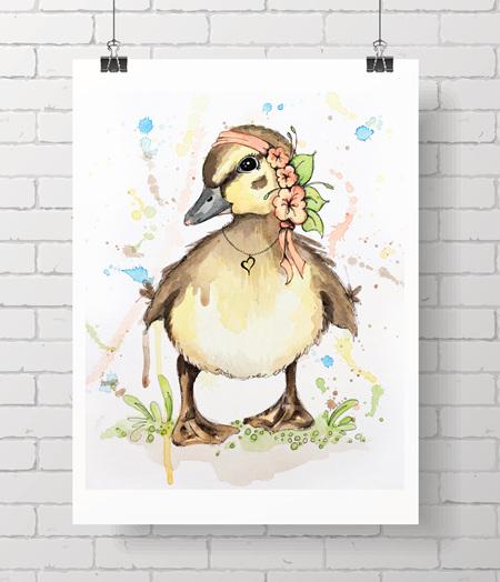 duckling - daphne