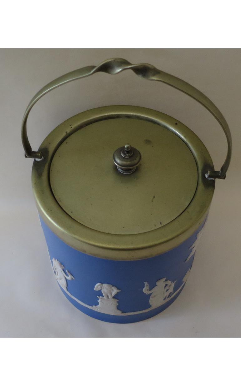 Dudson biscuit barrel