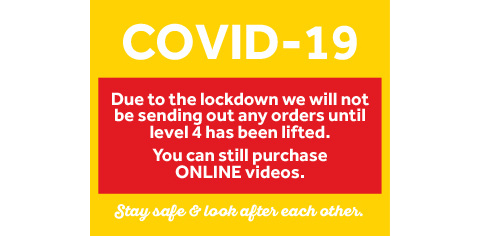Due to Covid-19 we are not sending out orders; online videos only
