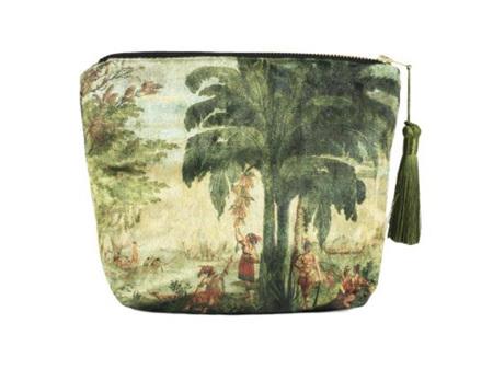 Dufour Pacifique Velvet Cosmetic Bag