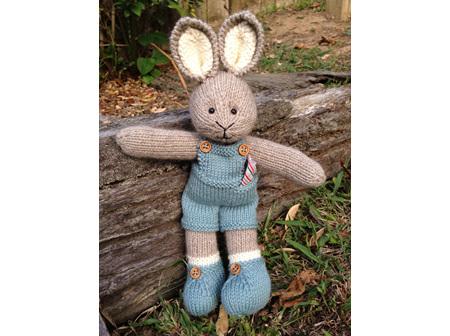 Dunstan Bunny Kit Pattern